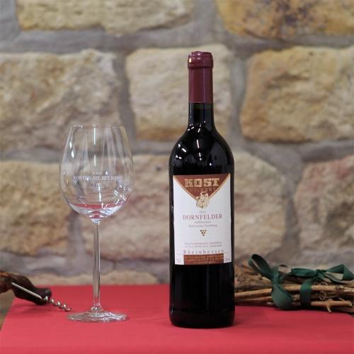 Weingut Kost Horrweiler Wein Dornfelder halbtrocken R6_12