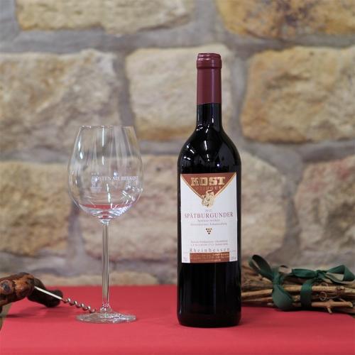 Weingut Kost Horrweiler Wein Spätburgunder Spätlese trocken R8_12